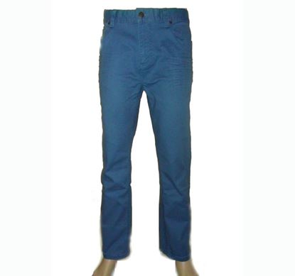 Picture of Slim Fit Cotton Skinny Pant (Deep Blue)