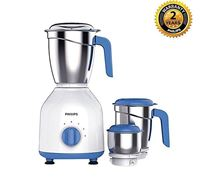 Philips Blue and White Mixer Grinder - HL7555/00