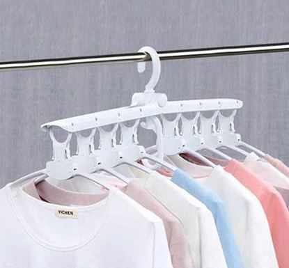 8 in 1 Multifunctional Foldable Cloth Hanger