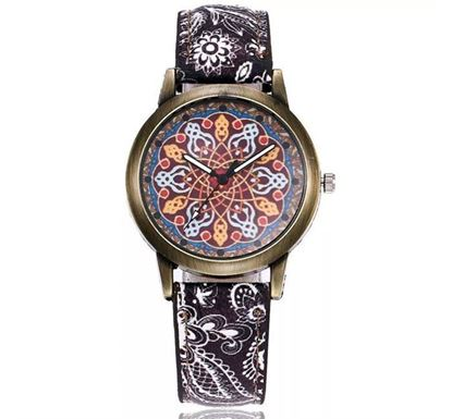 Vintage Leather Watch for Women (B91)