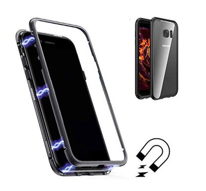 Magnetic 360 Metal Case for Samsung Galaxy S7 Edge Mobile