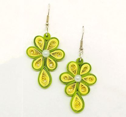 Paper Quilling Earring – AC07