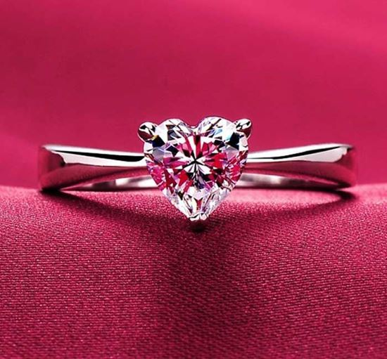 Pure Heart Finger Ring - DST 14