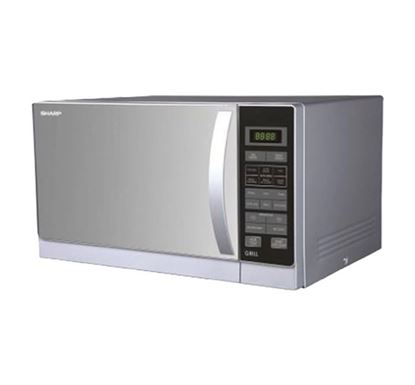 Sharp Grill Microwave Oven R-72A1-SM-V - 25 Liters