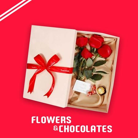 Picture for category Flowers and Chocolates