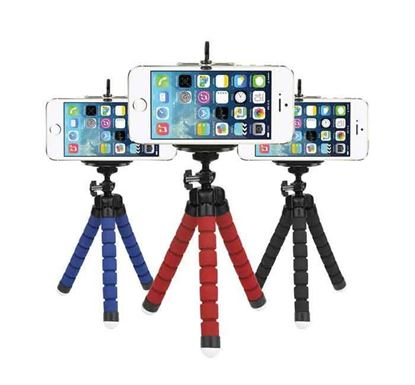 Mobile Phone Octopus Tripod Holder Mount Stand