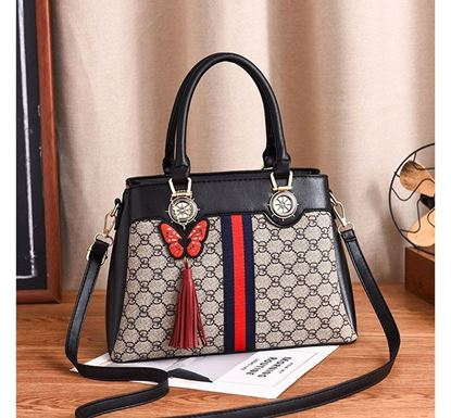 Fashionable Butterfly with Tassel Pendant Ladies Bag – MYSO1411B