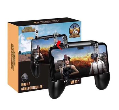 W11 All in One Mobile Gaming Game Pad Free Fire PUBG Mobile Game Controller