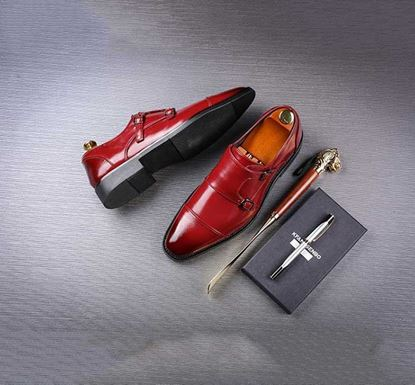 Oxford Shoe for Men - Red 706