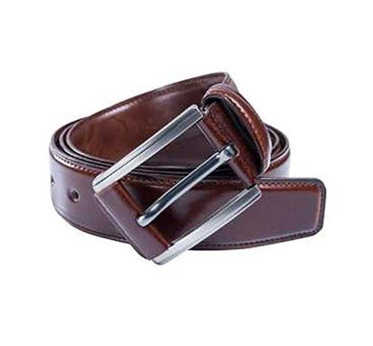 Artificial Leather Formal Belt For Men - BL 002 (Chocolate)