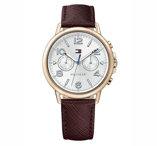 TOMMY HILFIGER Leather Ladies Watch - 1781734