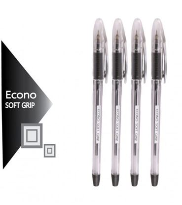 Picture of Econo Soft Grip Ball Pen – 10 Pieces