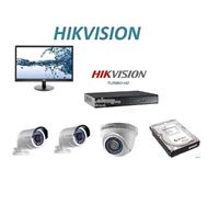 HIKVISION 3 HD Camera Full Package With Monitor PSS-003