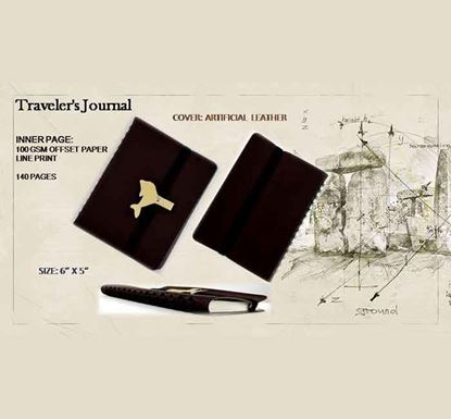 Traveler's Journal Notebook - 140 Pages A