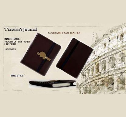 Traveler's Journal Notebook - 140 Pages B