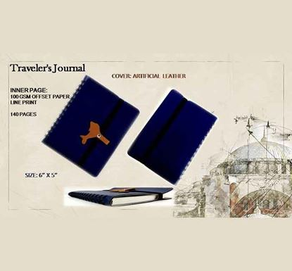 Traveler's Journal Notebook - 140 Pages C
