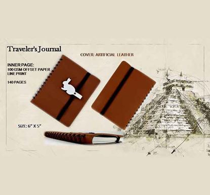 Traveler's Journal Notebook - 140 Pages D