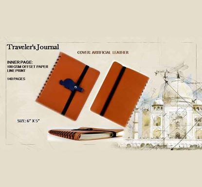 Traveler's Journal Notebook - 140 Pages E
