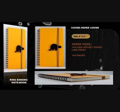 Ring Binding Notebook - (02) 140 Pages