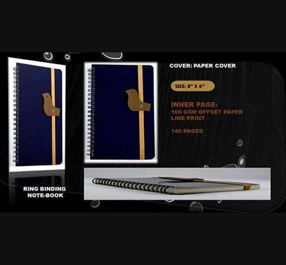 Ring Binding Notebook - (03) 140 Pages