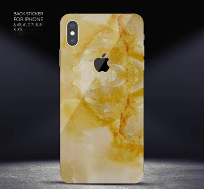 Mobile Back Sticker for iPhone - DB119