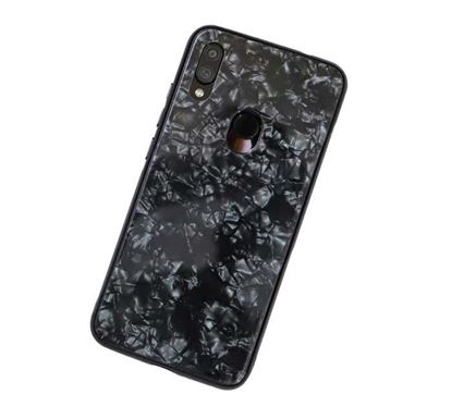 Xiaomi Redmi Note 7 Marbel Back Cover – Black