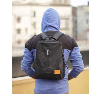 Picture of Fashionable Backpack LX031 - Black