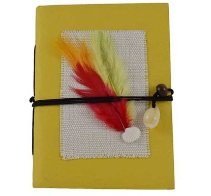 Feather Pocket Notebook - A&C 003