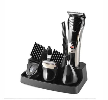 Kemei KM 590A Rechargeable 7 in 1 Trimmer for Men