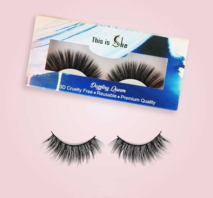 This is She Dazzling Queen Eyelash - Synthetic