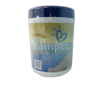 Pampers Wipes - Large (180 Pieces)