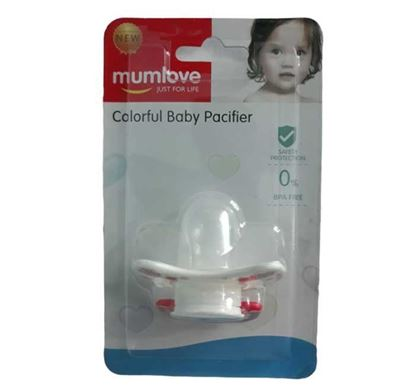 Mumlove Colorful Body Pacifier