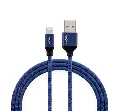 ANOBIK Essential Lightning to USB A Durable Charge & Sync Cable