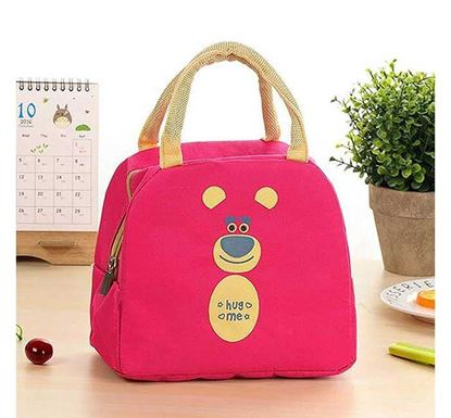 Multipurpose Portable Thermal Insulated Food Carry Bag - Magenta