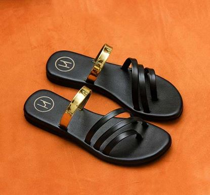 Multi-Strap Atypical Sandal for Women - HER-07