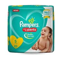 Pampers Baby Dry Pants Diaper S 4-8kg - 20 Pieces