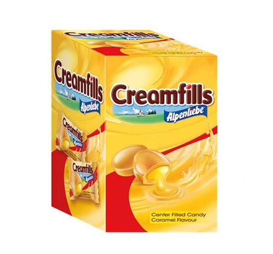 Alpenliebe Creamfills Candy - 75 Pieces Pouch