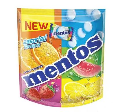 Mentos Assorted Candy Pouch - 50 Pieces