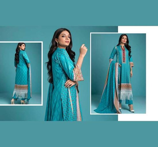 Sahil Printed Cotton Collection Vol 2 Lawn 02 - GBS