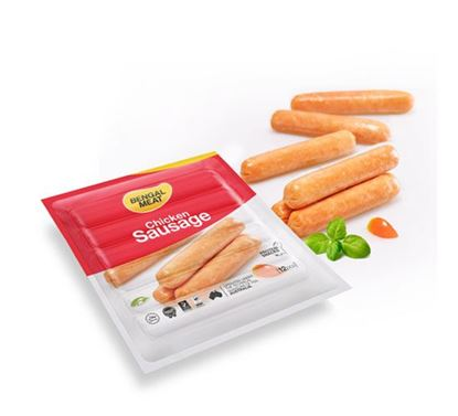 Bengal Meat  Chicken Cheese Cocktail Sausage - 270gm