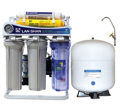 Lan Shan 5 Stages Mineral RO Purifier (LSRO-575-G)