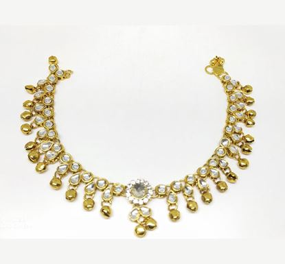 Gold Plated Anklet TR-1038