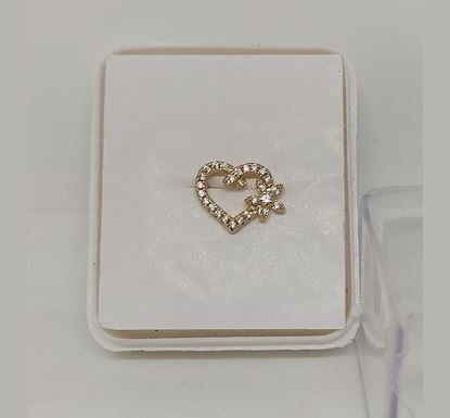 Gold Plated Nose Pin TR-962
