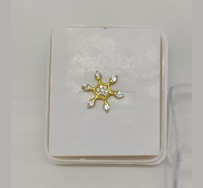 Gold Plated Nose Pin TR-963