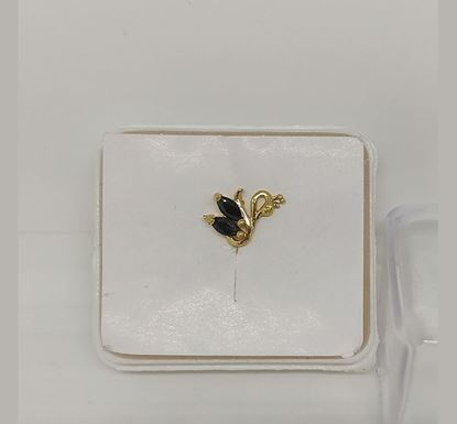 Gold Plated Nose Pin TR-970