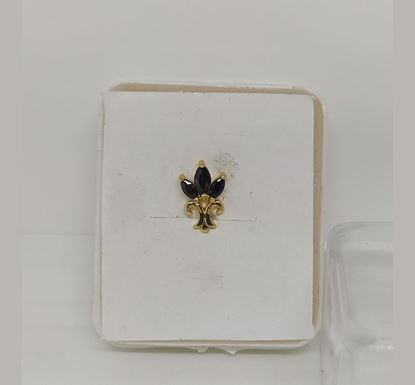 Gold Plated Nose Pin TR-990
