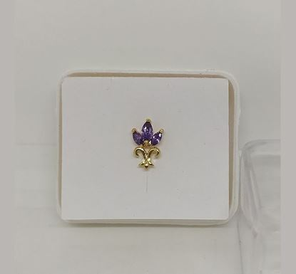 Gold Plated Nose Pin TR-992