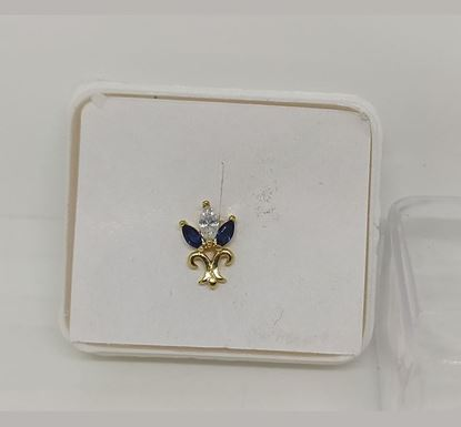 Gold Plated Nose Pin TR-997