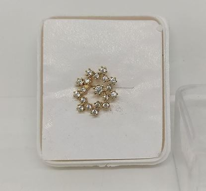 Gold Plated Nose Pin TR-1003