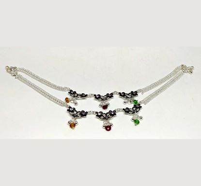 Silver Plated Anklet TR-1042